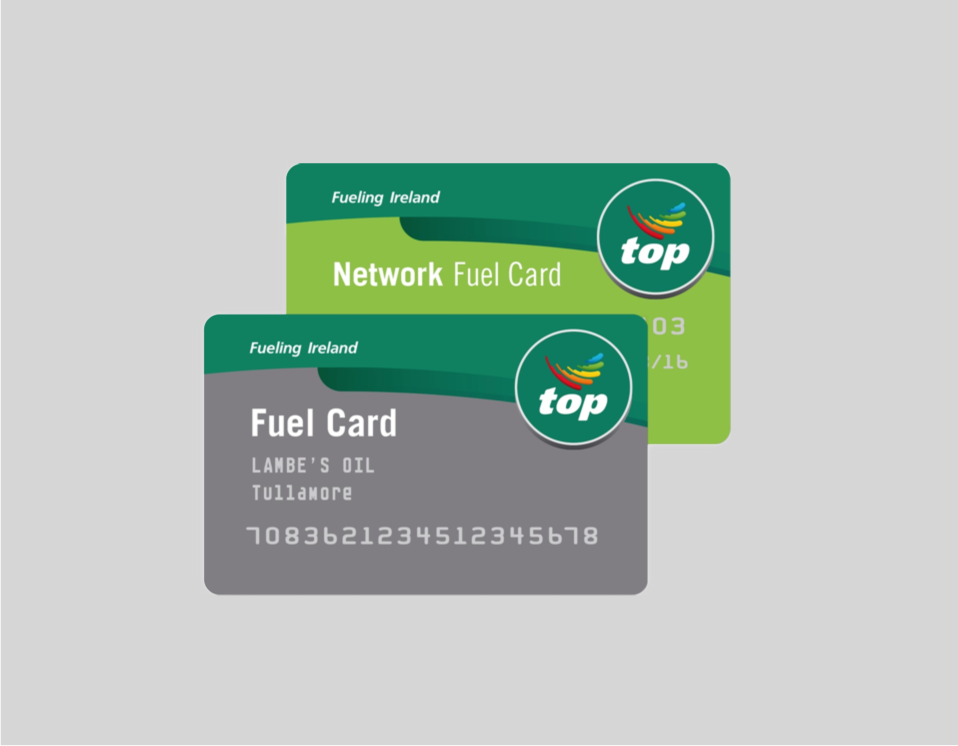 Why use the Lambe's Oil Fuel Card? Logo