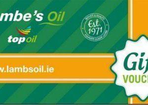 Lambes Oil In Store Fuel Gift Voucher