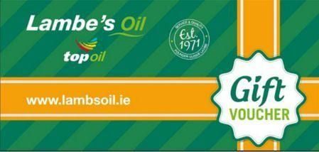 Lambes Oil In Store Fuel Gift Voucher