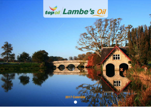 Lambes Oil Calendar Competition
