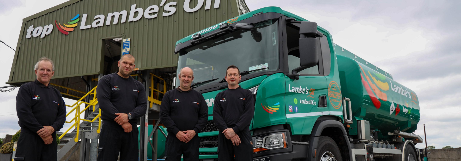 Lambes Oil Drivers at our Depot in Offaly